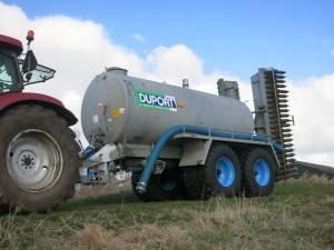 Duport 10.000 liter tank Mts. van der Weerd