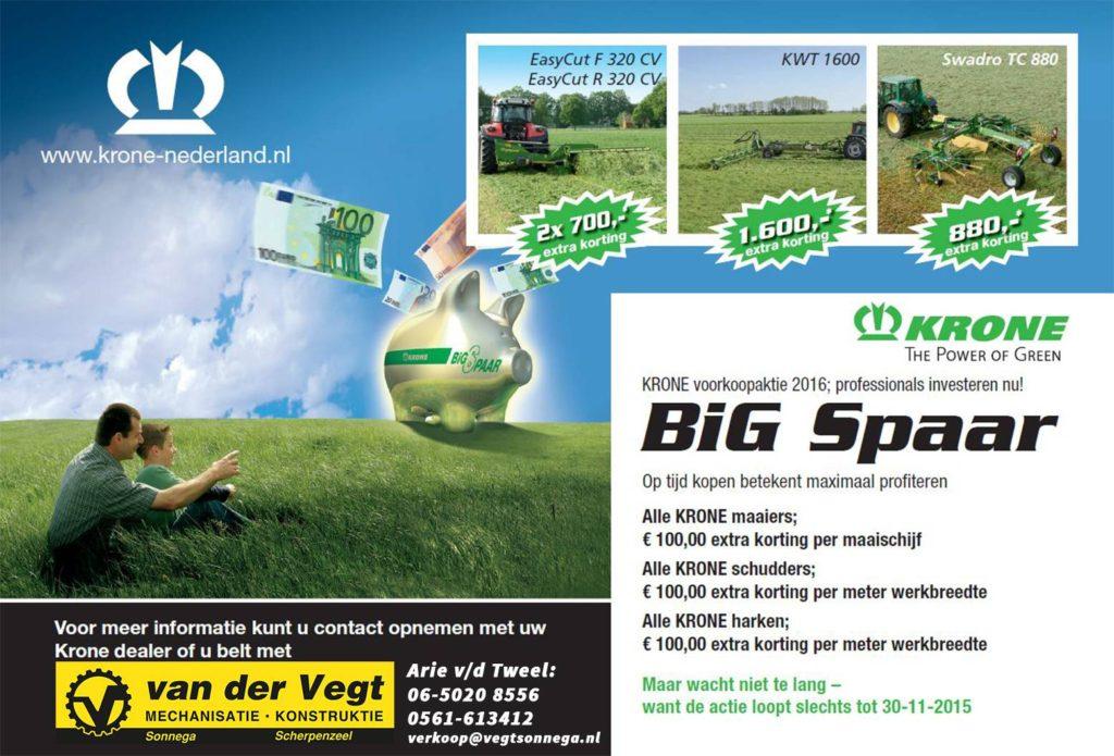 Krone Big Spaar 2015-2016